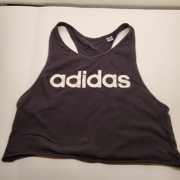 Adidas Ladies Crop Top Sleeveless